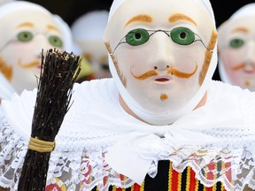 Carnival goers in traditional costume in Wallonia. The two regions of Wallonia and Brussels are home to 4.5 million people, less than 1 per cent of the 507 million European consumers the EU-Canada free trade deal would impact.
