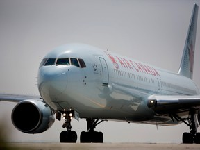 Air Canada reported a better-than-expected quarterly profit today.