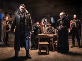 A still image from Netflix's Frontier.
