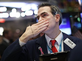 U.S. stock index futures are lower today.