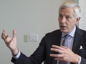Dominic Barton, chair of the Advisory Council on Economic Growth