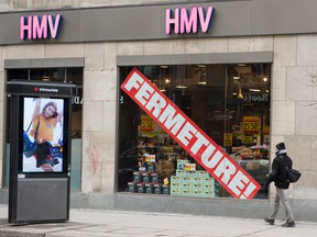 Sunrise Records will begin to open stores this spring after HMV liquidates and removes its signs.