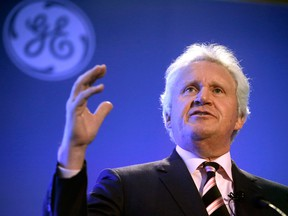 Jack Immelt, CEO of General Electric, at a news conference last year.