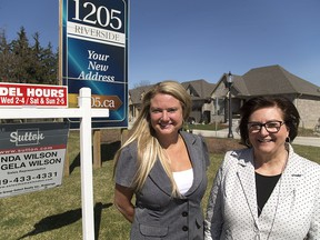 Angela and Linda Wilson are London realtors who are seeing lots of Toronto realtors looking for homes for their Toronto clients in London, Ont.