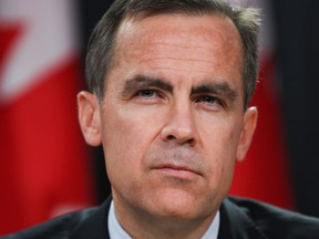 Former Bank of Canada Governor Mark Carney.