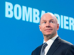 Chief Executive Officer Alain Bellemare is pushing to reduce expenses as he pursues a turnaround plan after Bombardier's CSeries jetliner entered service more than two years late and US$2 billion over budget.