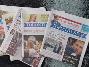Torstar Corp, which owns the Toronto Star, the Hamilton Spectator and Metro commuter papers among others, plans to cut 110 jobs as print and digital revenues decline.