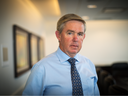 CEO of MEG Energy Corp Bill McCaffrey in the company's headquarters in Calgary.