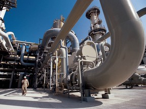 In recent years, prices for natural gas by-products such as propane have fallen below zero, but the commodity itself has not fallen into negative territory in Alberta.