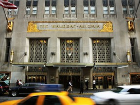 Anbang bought New York's iconic Waldorf Astoria hotel in October 2014.
