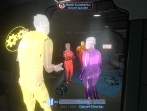 In Tacoma, players take on the role of a contract salvager sent to find out what happened aboard a derelict space station once populated by a lively crew.
