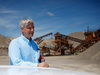 Greg Sweetnam the executive vice-president of James Dick Aggregates is seen at the Caledon Sand and Gravel pits in Caledon, Ont.