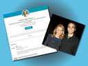 Jennifer Stranzl's LinkedIn page where she says she is the CMO at Sears Canada and at a social event with her husband, Sears Canada executive chairman Brandon Stranzl.