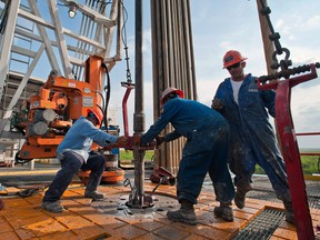 The number of rigs drilling for oil, which had been falling during the industry slump, started to increase again from May 2016.