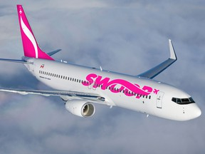 Swoop is expected to start selling discounted tickets in early 2018 and will begin flying passengers on six Boeing 737-800s in late June of 2018.