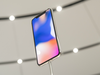 The Apple iPhone X is displayed during an event at the Steve Jobs Theater in Cupertino, California