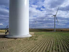 A wind farm in Alberta. Alberta, Canada's largest consumer of coal and its second-largest producer of the fuel -- in its efforts to transition to all renewable and gas-fired generation by 2030.