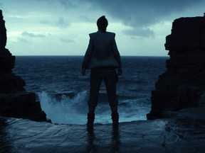 """This image released by Lucasfilm shows a scene from the upcoming """"Star Wars: The Last Jedi,"""" expected in theaters in December. Cineplex is giving Star Wars fans a surprise twist at the box-office by charging an extra dollar for assigned seating at some showings. THE CANADIAN PRESS/AP-Industrial Light & Magic/Lucasfilm via AP"""