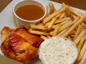Canadians now spend about 30 per cent of their food budget on eating out and consuming prepared meals.