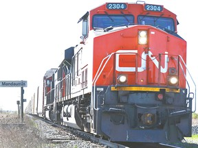 CN Railway expects volumes to break new records in 2018.