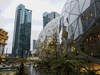 The Amazon.com Inc. Spheres, right, during opening day ceremonies at the company's campus in Seattle on Jan. 29. Unlike other U.S. tech centres, Seattle has kept up with the demands of a growing work population by building new housing at a higher rate than other tech hubs such as San Francisco.