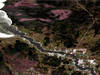 A satellite image of Powerview-Pine Falls, Man. on the Winnipeg River. The town boasts a massive amount of electricity, something cryptocurrency miners are seeking.