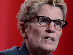 Ontario Premier Kathleen Wynne says the size of each punishment will be proportional to the size of the Buy American exclusion.