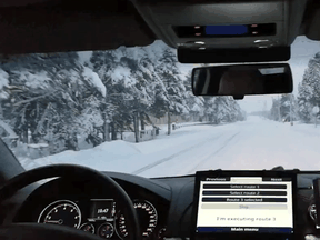 Martti, an autonomous vehicle developed by the VTT Technical Research Centre of Finland, completed what is believed to be the first fully autonomous drive on a snow-covered public road in December.