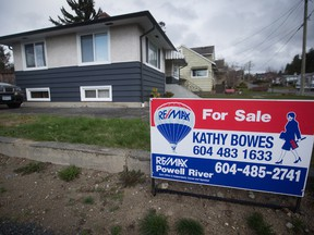 Sales figures released by the B.C. Real Estate Association for March show 7,409 homes changed hands last month, a decline of 24.6 per cent over March 2017, while average property prices climbed 5.3 per cent over the same period.