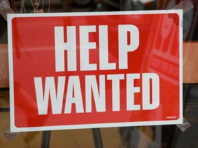 Statistics Canada says the jobless rate stayed at 5.8 per cent in March for a second consecutive month -- and for the third time since December -- to match its lowest level since the agency started measuring the indicator in 1976.