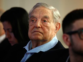 Billionaire investor George Soros is warning the European Union that it's facing an imminent existential threat.