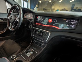 BlackBerry's QNX software is used for infotainment systems, acoustics and dashboard functions.