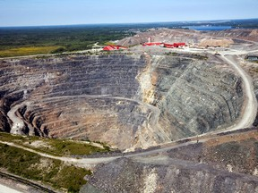 Goldcorp's Borden gold mine is going all-electric.
