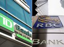 Toronto-Dominion shares have surged 18 per cent in the past 12 months while Royal Bank gained 7.1 per cent.