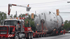 Traffic lights must be turned out of the way to allow oversized loads to pass on Ontario roads.