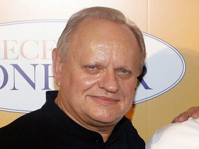 """FILE - In this Sept.7, 2014 file photo, French chef Joel Robuchon poses for photographers during a photocall for the movie """"The Hundred-Foot Journey"""", in Paris, Sunday, Sept. 7, 2014. French master chef Joel Robuchon has died at the age of 73."""