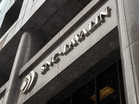 SNC-Lavalin gets about 11 per cent of sales in Saudi Arabia.