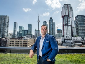 George Scorsis at his Toronto office.