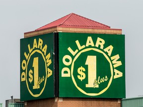 Dollarama said it took a hit lower sales during the Canada Day weekend.
