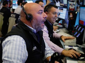 Stock markets around the world fell on Friday on track for the longest weekly losing streak since 2013.