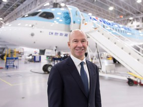 """Bombardier CEO Alain Bellemare said management will continue """"leaning out"""" or streamlining the Montreal-based company."""