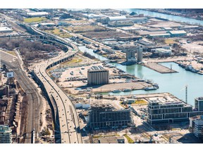 Toronto's Eastern Waterfront, to be home of the smart city, is seen in this undated handout photo.