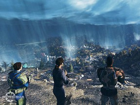 Fallout 76 moves Bethesda Softworks' popular post-nuclear apocalypse series into online multiplayer territory, with up to 16 players inhabiting each instance of its huge world.