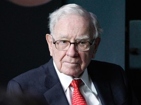 October's dismal market slide opens the door for Warren Buffett to finally make a dent in his giant pile of cash.