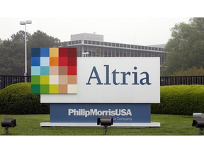 The Altria Group Inc. corporate headquarters in Richmond, Va., is shown on April 23, 2008.