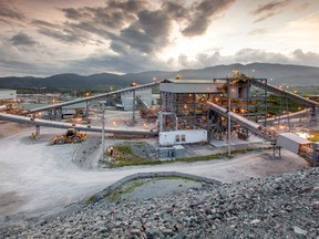 Tahoe Resources' Escobal mill, in Guatemala.