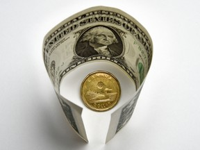 Toronto-Dominion Bank downgraded its forecast of the Canadian dollar on Friday, seeing at within a range of 74 U.S. cents to 71 U.S. cents for much of this year. Citigroup technical strategists are targeting 73.52 US cents to 72.99.