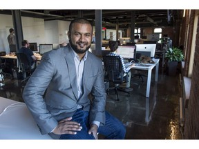 Dax Dasilva, CEO of Lightspeed, is seen in his office Tuesday, September 15, 2015 in Montreal.