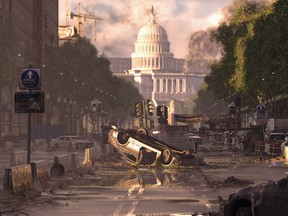 Tom Clancy's The Division 2 is a loot shooter set in an alternate Washington DC that has suffered an eco-terrorist attack and is under siege by rogue factions.