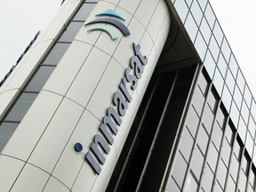 The offices of satellite operator Inmarsat in central London.
